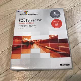 マイクロソフト(Microsoft)のMicrosoft SQL Server 2005 サーバー(コンピュータ/IT )