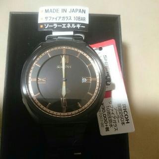 リコー(RICOH)のRICOH ソーラー  腕時計(腕時計(アナログ))