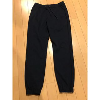ジーユー(GU)のGU ジョガーパンツ 紺色(その他)