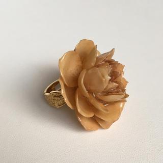 指輪  リング   本物   お花(リング(指輪))