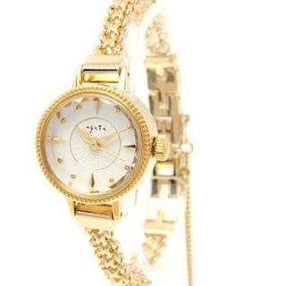アガット(agete)のアガット agete ジュエリーウォッチ 腕時計 イエローゴールド(腕時計)