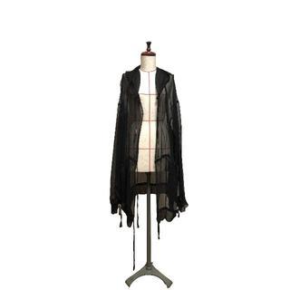 ダミールドーマ(DAMIR DOMA)の値下Damir Doma silk hoodie ダミールドーマ シルクフーディ(パーカー)