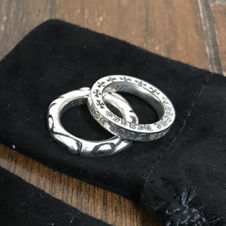 クロムハーツ(Chrome Hearts)のクロムハーツ  スクロールリング 値下げ(リング(指輪))