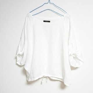 ロッソ(ROSSO)のアーバンリサーチロッソ リボンスリーブプルオーバー(シャツ/ブラウス(半袖/袖なし))