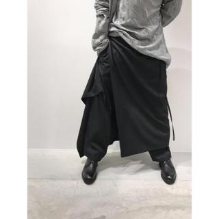 ヨウジヤマモト(Yohji Yamamoto)のGround Y 2way 変形スカパンツ yohji Yamamoto  (サルエルパンツ)