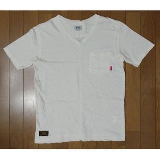 ダブルタップス(W)taps)のWTAPS 13AW BLANK S/S Vネック Sサイズ 白(Tシャツ/カットソー(半袖/袖なし))