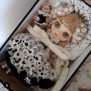 タカラトミー(Takara Tomy)のカスタムブライス ゲルダエタニティ 作家様 ブライス ネオブライス(人形)