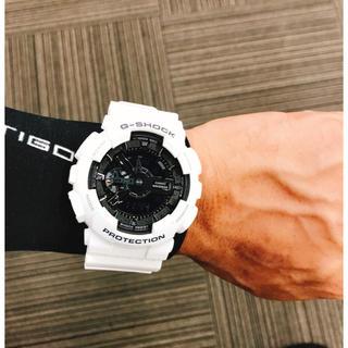 ジーショック(G-SHOCK)の夏にピッタリ G-SHOCK GA-110GW-7AJF(腕時計(デジタル))