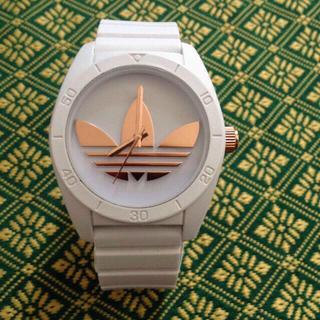 アディダス(adidas)のadidas 腕時計 ピンクゴールド(腕時計)