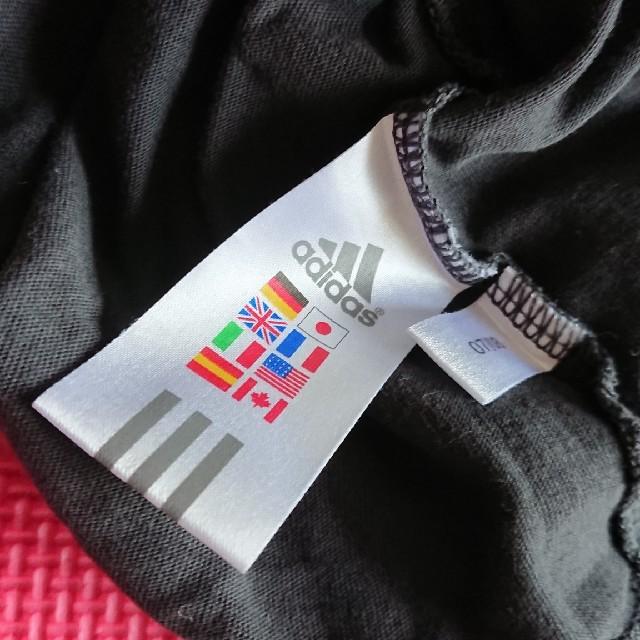 adidas(アディダス)のアディダス ロングティーシャツ レディースのトップス(Tシャツ(長袖/七分))の商品写真