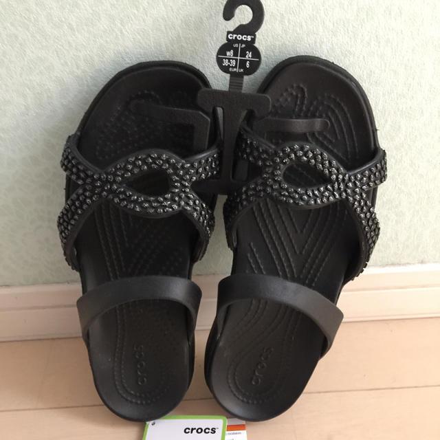2f3ad1887e42 crocs(クロックス)のクロックス Meleen Twist Diamante Sandals レディースの靴 シューズ(