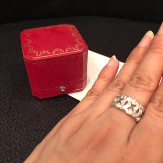 カルティエ(Cartier)のカルティエ      18kホワイトゴールド   指輪   48号(リング(指輪))