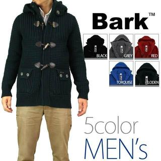 バーク(BARK)のバーク(Bark) メンズニットダッフル ジャケット コート (#S)(ダッフルコート)
