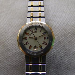 コルム(CORUM)のコルムアドミラズカップ(ギャランティカード付)(腕時計)