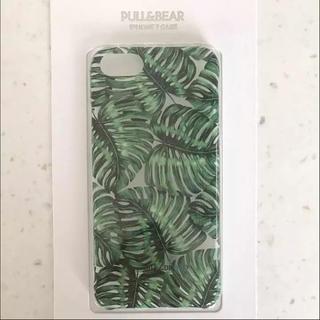 ザラ(ZARA)の【新品•未使用】PULL&BEAR のトロピカル柄のiPhone7 カバーケース(iPhoneケース)