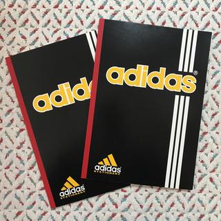 アディダス(adidas)のadidas 7mm ノート 2冊セット(ノート/メモ帳/ふせん)