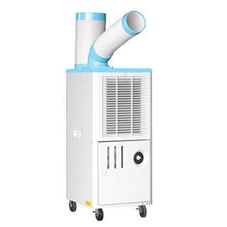ヤマゼン(山善)の山善排熱ダクト付スポットエアコン(単相100V) YS-422D(エアコン)