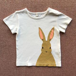 ムジルシリョウヒン(MUJI (無印良品))の無印良品 Tシャツ 90 うさぎ(Tシャツ/カットソー)