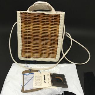 ネストローブ(nest Robe)のエバゴス KAGO BUKURO カゴポシェット 新品(かごバッグ/ストローバッグ)
