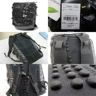 アディダス(adidas)の黒)アディダス★DUD44 バックパック26 リュックサック 収納多数 消臭抗菌(その他)