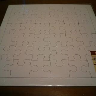 ムジルシリョウヒン(MUJI (無印良品))の落書きパズル(知育玩具)