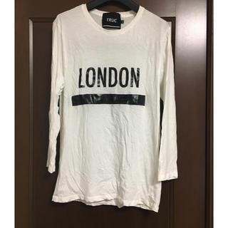 ラフシモンズ(RAF SIMONS)のTRUC ロゴプリントTシャツ(Tシャツ/カットソー(半袖/袖なし))