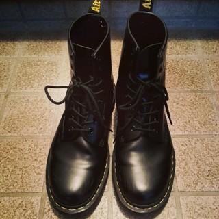 ドクターマーチン(Dr.Martens)の8ホールシューズ UK7 ブラック(ブーツ)