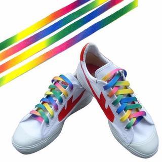 110cm♡マルチカラーシューレース/靴紐/靴ひも★即購入OK(スニーカー)