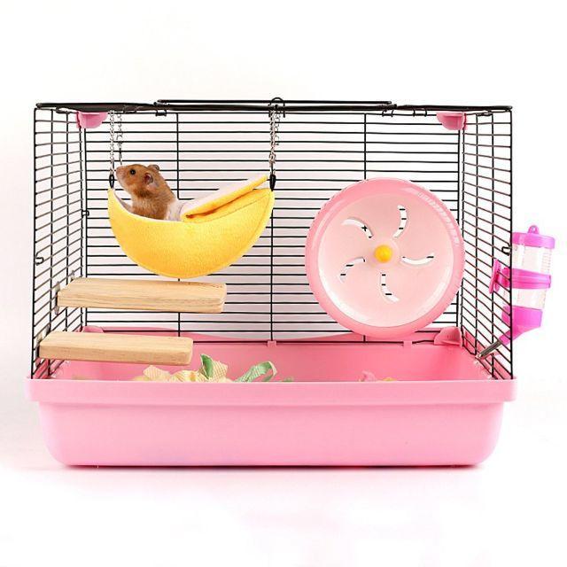 ハムスター モルモット モモンガ チンチラ 小動物 バナナベット (イエロー) その他のペット用品(小動物)の商品写真