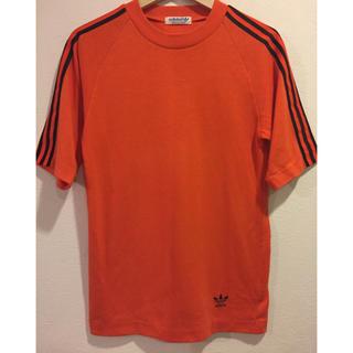 アディダス(adidas)の90s adidas originals  オーバーサイズ ラグランTシャツ (Tシャツ/カットソー(七分/長袖))