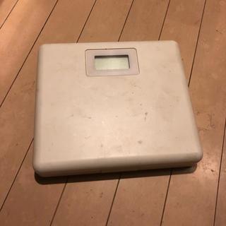 ムジルシリョウヒン(MUJI (無印良品))の無印 体重計(体重計)