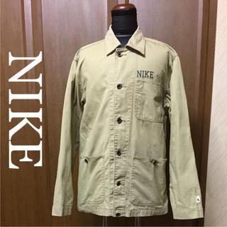 ナイキ(NIKE)のNIKE  ナイキ  デニムジャケット  カバーオール  サイズM(ミリタリージャケット)