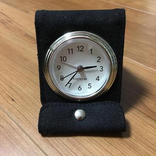 コーチ(COACH)のミニ時計 COACH ノベルティ(ノベルティグッズ)