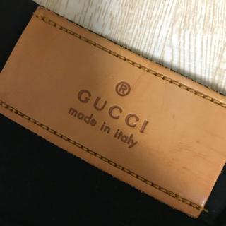 グッチ(Gucci)のGUCCI(グッチ)ブラックパンツ(チノパン)