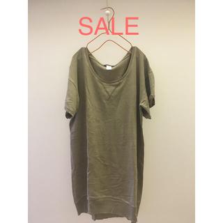 ナンバージュウイチ(n゜11)のゆったり半袖チュニックT(Tシャツ(半袖/袖なし))