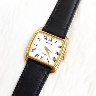 ウォルサム(Waltham)の美品☆ ウォルサム マキシム 手巻き 70年代アンティーク(腕時計)