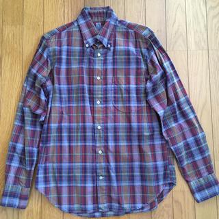 カトー(KATO`)の新品 katoカトー チェックシャツ Sサイズ(シャツ)