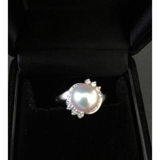 ポーラ(POLA)の☆ももすけ様専用ページ☆POLAのPt900あこやダイヤモンドリング(リング(指輪))