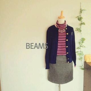 ビームス(BEAMS)のBEAMS ボーダー(カットソー(長袖/七分))