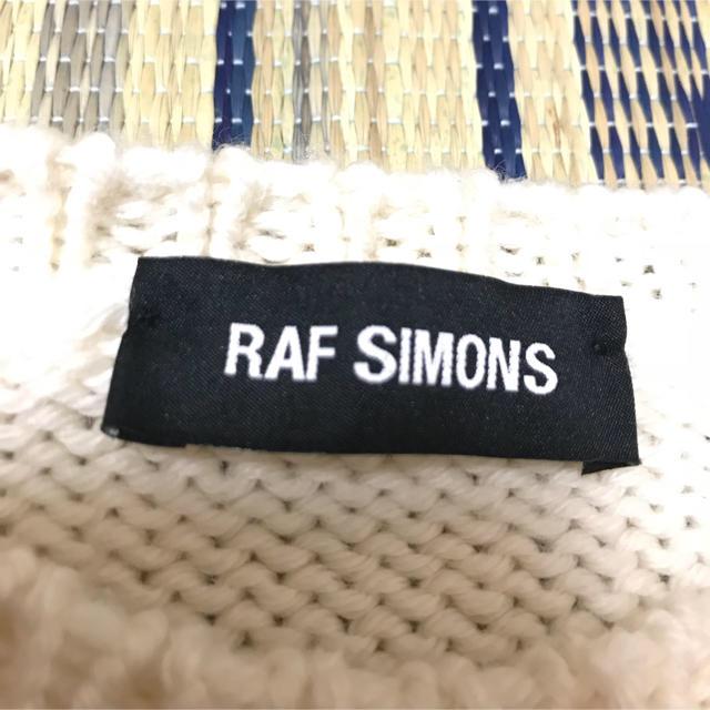RAF SIMONS(ラフシモンズ)のRaf  simons NYポンチョニット fukutan様専用 メンズのトップス(ニット/セーター)の商品写真