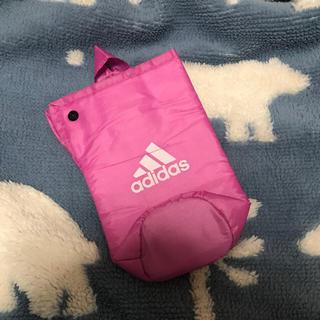 アディダス(adidas)のアディダス ペットボトルカバー ピンク ノベルティー(ノベルティグッズ)
