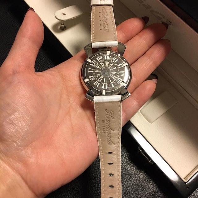 wholesale dealer 72b7e a6b5f ガガミラノ レディース時計