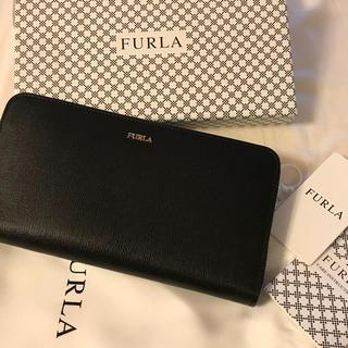 フルラ(Furla)のフルtete様専用!FULRA 新品 未使用  正規品 ラウンド 財布 ブラック(財布)