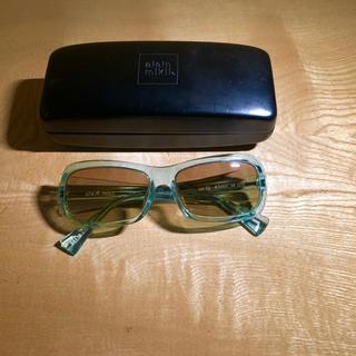 アランミクリ(alanmikli)の美品 貴重 アランミクリ サングラス alanmikli クリアライトブルー(サングラス/メガネ)