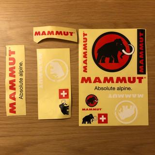 マムート(Mammut)のマムート ステッカー(登山用品)
