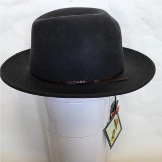 カシラ(CA4LA)のSORBATTI ソルバッティ ウール革紐 中折れ帽子(ハット)
