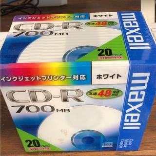 マクセル(maxell)のCD‐R データ用20枚組(PC周辺機器)