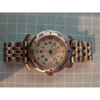ウェンガー(Wenger)のロンサム6609様専用 WENGER SWISSMILITARY(ジャンク)(腕時計(アナログ))