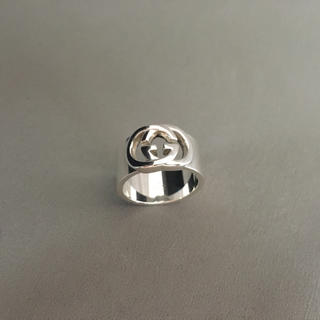 グッチ(Gucci)のGUCCI  人気  美品  GG  ロゴリング  シルバー925(リング(指輪))