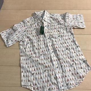 ユニクロ(UNIQLO)の半袖シャツ スキャッティ メンズ サイズM(シャツ)